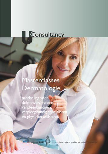 Masterclasses dermatologie nascholing voor doktersassistenten, verpleegkundigen, verpleegkundig specialisten en physician assistants